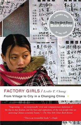 Factory Girls By Chang, Leslie T.